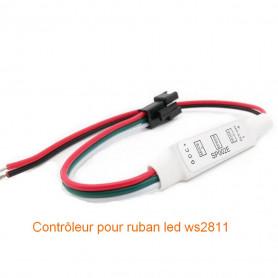 Mini contrôleur led digital ws2811 ws2812 5v-24v