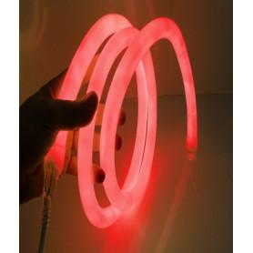 Led neon flex 360° rouge