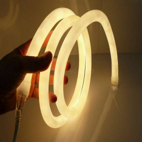 Neon led flexible 360° 16mm 220v