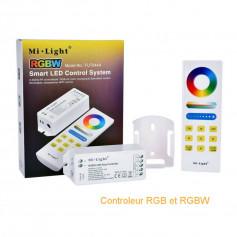 Contrôleur led RGB et RGBW 12v-24v milight
