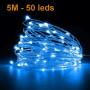 Guirlande led décorative 5m 50leds