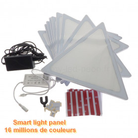 Smart light panel / nanoleaf