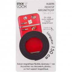 Ruban adhésif magnétique - stick'n look