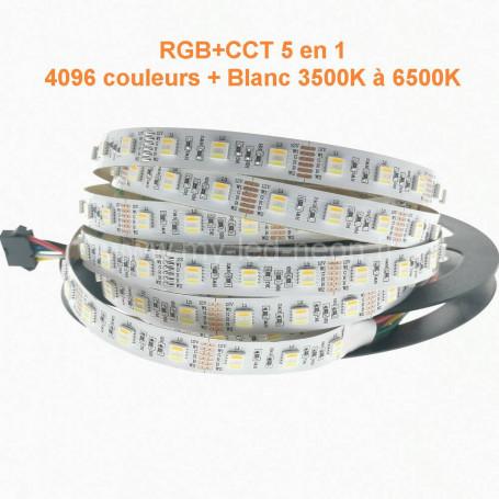 Ruban led 5en1 RGB+CCT