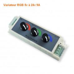 Variateur RGB 3 boutons