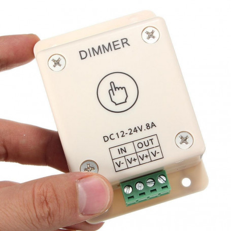 Dimmer led tactile 8A
