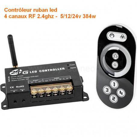Contrôleur dimmer led 4 canaux wifi