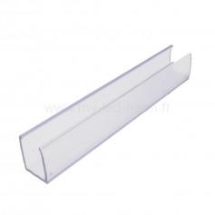 Set profilés 7x8mm PVC néon flex 180°