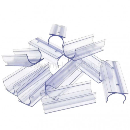 10 profilés PVC néon 360°