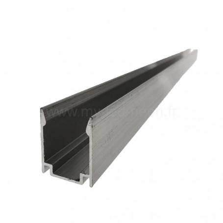 Profilé aluminium 16x20mm 1m