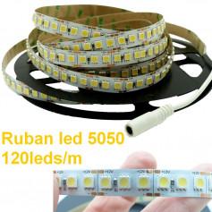 Ruban led 5050 120leds/m