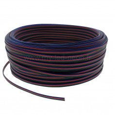 Câble 4 fils led RGB