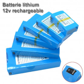 Batterie 12v Li-ion lithium rechargeable