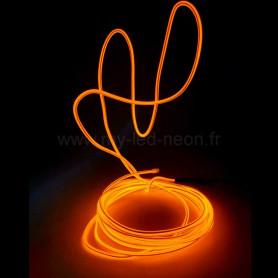Fil néon à mémoire de forme 3m + contrôleur 3v