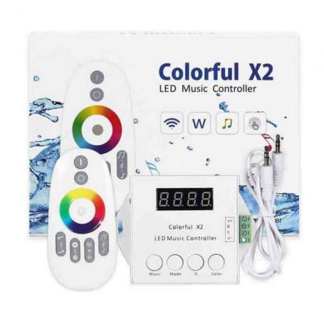 Contrôleur musique LED colorful X2