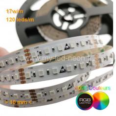 Ruban led RGB 600 leds 85w 24v 5m