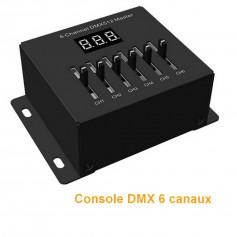 Mini console DMX 6 canaux