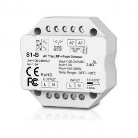 Variateur 220V RF + push dimmer