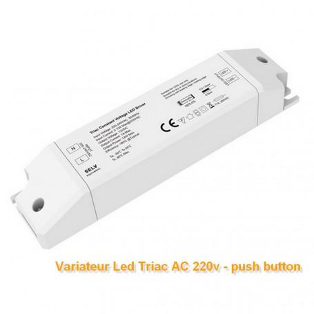 Variateur de lumière 0-100% AC 220V-12V 12W