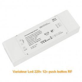 Variateur de lumière 0-100% PUSH AC 220V-12V 75W