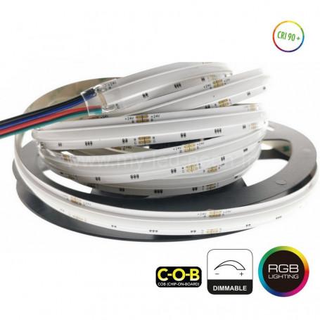 Ruban led RGB COB 4096 couleurs