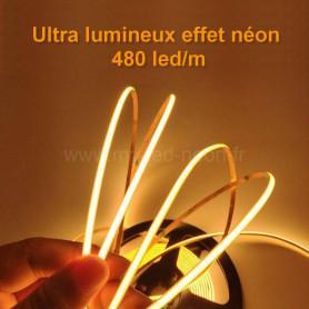 Ruban led COB effet néon 5m