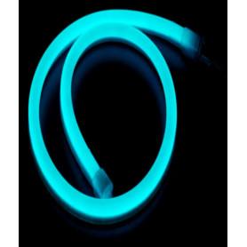 Kit mini Led néon flex bleu -1m