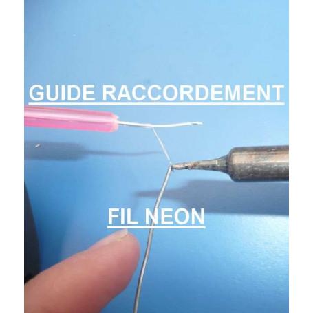 Tutoriels fil néon / el wire
