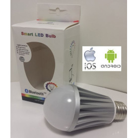 Ampoule leds RGB Bluetooth