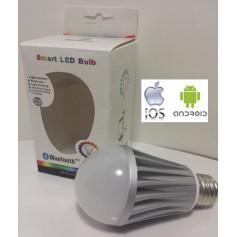 Ampoule leds RGB Bluetooth