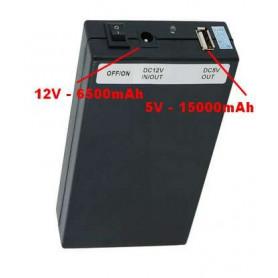 Batterie lithium Dual 12V et 5V