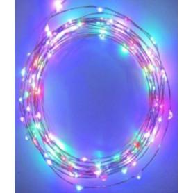 Fil led décoration RGB 10m