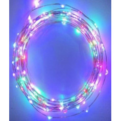 Fil led décoration RGB 10m