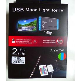 KIT LED RGB - TV USB