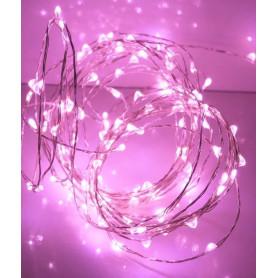 Fil led décoration Rose 5m