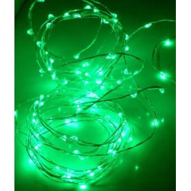 Fil led décoration Vert 5m