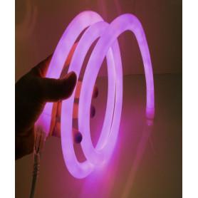 Neon flex 360° 12V Rose