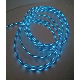 Fil néon animé - Aqua