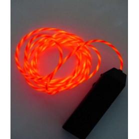 Fil néon animé - Rouge