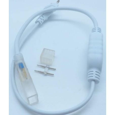 Kit cordon alimentation bande led 220v