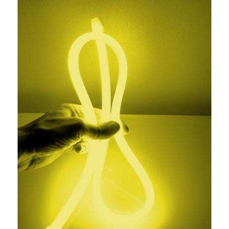 Mini néon led 360° jaune