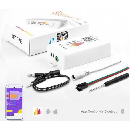 Controleur musique led pixel IOS android SP107E