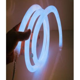 Led neon flex 360° bleu