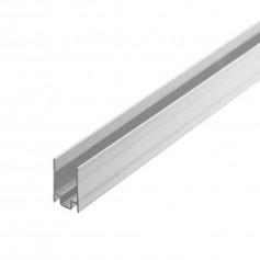Profilé aluminium 8x16mm 1m