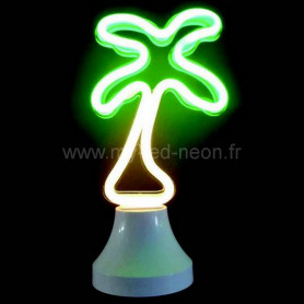 """Lampe néon décorative """"palmier"""""""