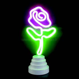 Lampe fleur