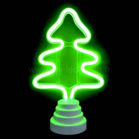 Lampe sapin néon