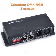 Décodeur DMX RGB 3 canaux