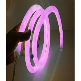 Led neon flex 360° rose
