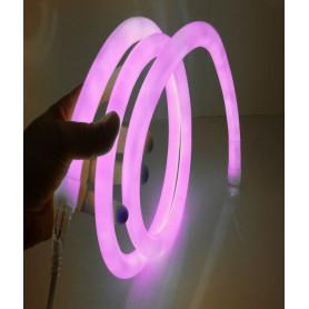 Led neon flex 360° rose